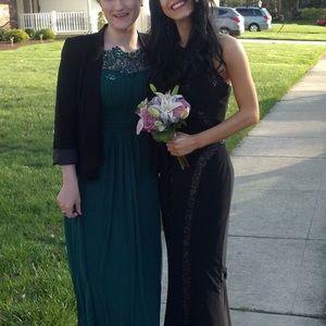 Faviana Prom Dress Formal Gown Racerback